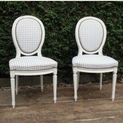 Beklede stoelen