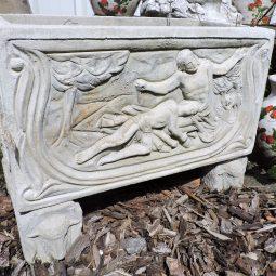 Bloembak in Franse steen