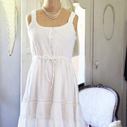 Dress, Pretty Moments, White 65 1