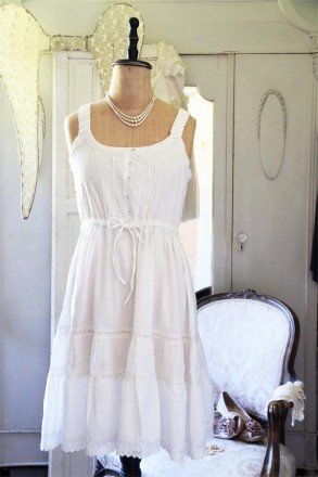 Dress, Pretty Moments, White 65 1