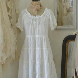 Dress, Pretty Times, White 65 1