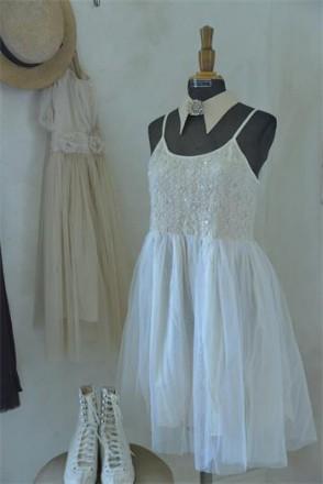 Kinder vintage dress Rose-Tea color 45 1