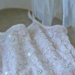 Kinder vintage dress Rose-Tea color 45 2