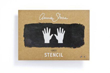 annie-sloan-sjabloon-a4-hands
