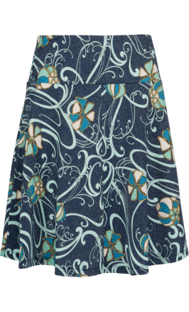 Circle Border Skirt Bravura