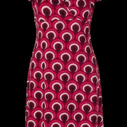 Gina Dress Peacock2
