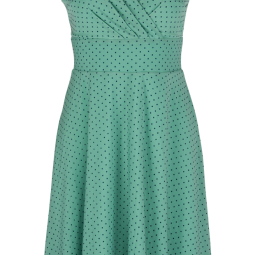 Ginger Dress Wide Pepita