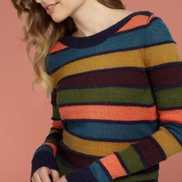 Audrey Top Varsity Stripe1
