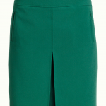 Border Pleat Skirt Tribeca3