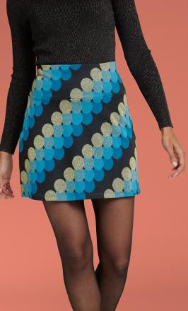 Border Skirt Mini Discotheque1