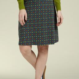 Border Skirt Tangerine1