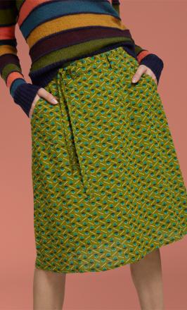 Rosa Skirt Caramba1