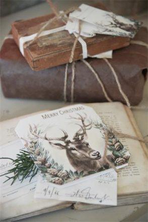 Double Christmas card