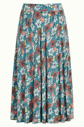 Circle Skirt Marsala